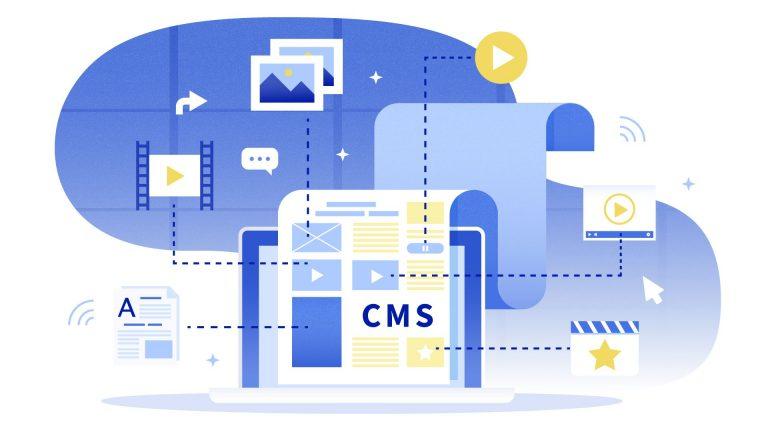 Schemat ilustrujący definicję CMS